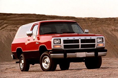 Фото Dodge Ramcharger